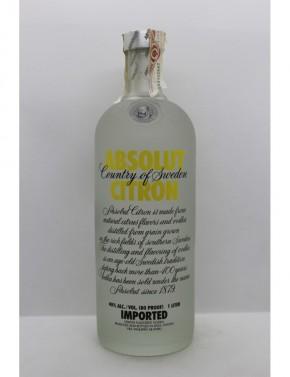 Absolut Vodka Citron 1L - 1