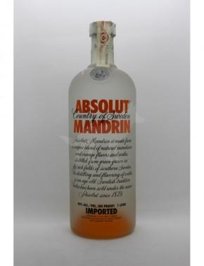 Absolut Vodka Mandrin - 1