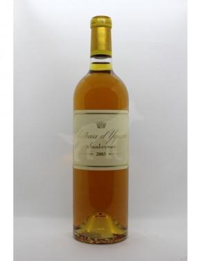Chateau D'Yquem Sauternes 2003 - 1